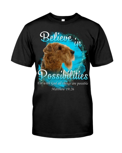 Airedale Terrier-Believe In Possibilities