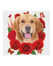 Golden Retriever-Face Mask-Rose Cloth face mask aos-face-mask-coverlet-lifestyle-front-02