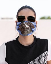 English Springer Spaniel-Blue Mask Cloth face mask aos-face-mask-lifestyle-02