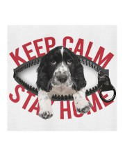 Springer Spaniel-Mask-Stay Home Cloth face mask aos-face-mask-coverlet-lifestyle-front-02