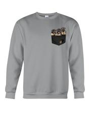 German Shepherd-02 - Pocket Crewneck Sweatshirt thumbnail