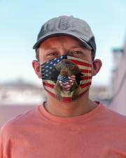 Chesapeake Bay Retriever-US Mask Cloth face mask aos-face-mask-lifestyle-06