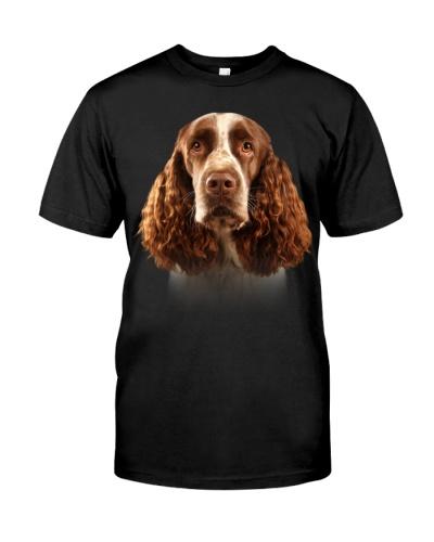 English Springer Spaniel-Dog Face