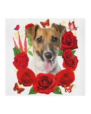 Jack Russell Terrier-Face Mask-Rose Cloth face mask aos-face-mask-coverlet-lifestyle-front-02