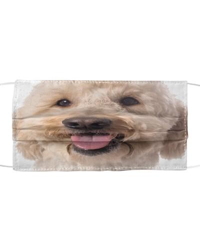 Goldendoodle-Face Mask