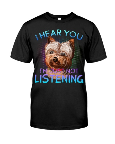 Yorkshire Terrier-Art-I Hear You