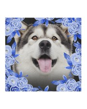 Alaskan Malamute-Blue Mask Cloth face mask aos-face-mask-coverlet-lifestyle-front-02
