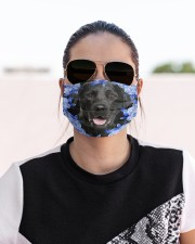 Labrador-Blue Mask Cloth face mask aos-face-mask-lifestyle-02
