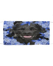Labrador-Blue Mask Cloth face mask front