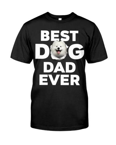 Samoyed-Best Dog Dad Ever
