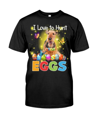 Airedale Terrier-Hunt Eggs