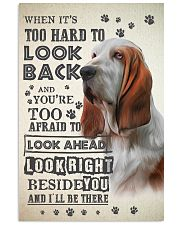 Basset Hound - Look Back 24x36 Poster front