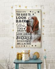 Basset Hound - Look Back 24x36 Poster lifestyle-holiday-poster-3