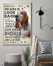 Basset Hound - Look Back 24x36 Poster lifestyle-poster-1