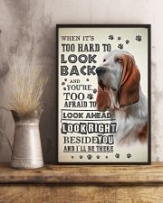 Basset Hound - Look Back 24x36 Poster lifestyle-poster-3