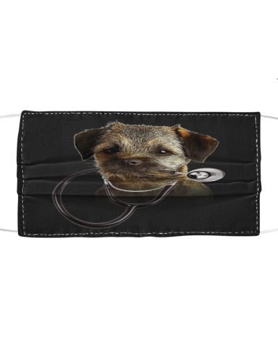 Border Terrier-Face Mask-Stethos