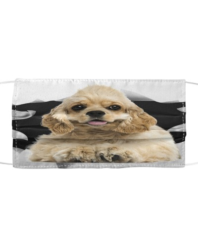 American Cocker Spaniel-03-Face Mask-Torn03