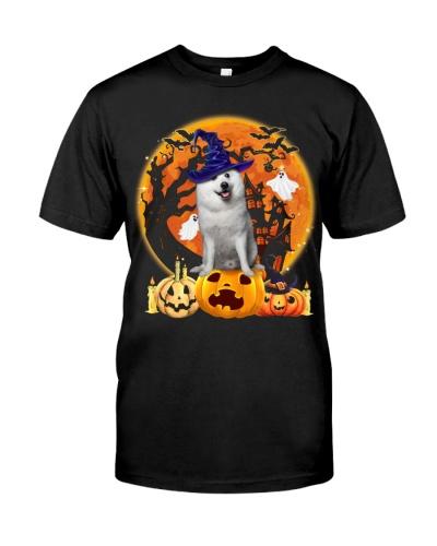 American Eskimo Dog-Halloween