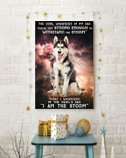 Husky - Storm 24x36 Poster lifestyle-holiday-poster-3