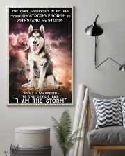 Husky - Storm 24x36 Poster lifestyle-poster-1