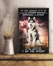 Husky - Storm 24x36 Poster lifestyle-poster-3