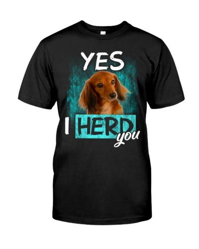 Dachshund-03-I Herd You