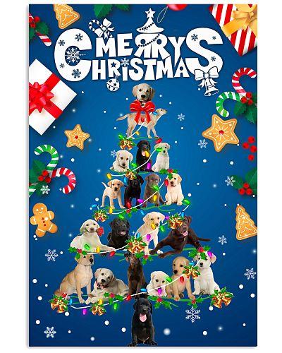 Labrador-Merry Christmas