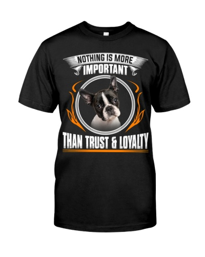 Boston Terrier-Trust And Loyalty