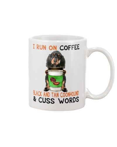 Black and Tan Coonhound-Coffee