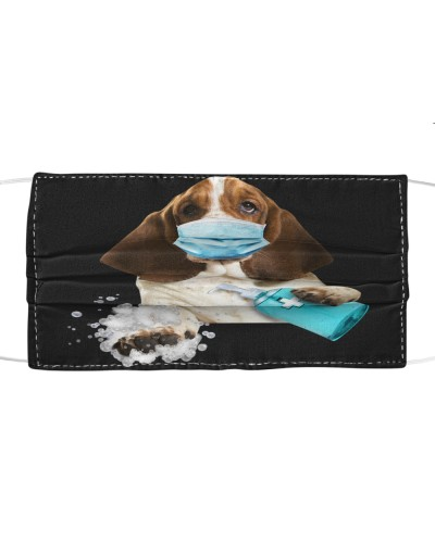 Basset Hound-Face Mask-Wash