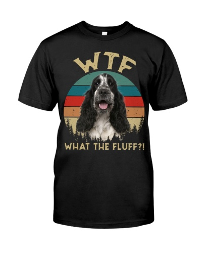 English Cocker Spaniel-What The Fluff