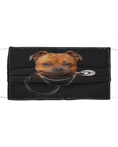 Staffordshire Bull Terrier-Face Mask-Stethos
