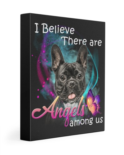 French Bulldog-Black-03-Canvas Angels