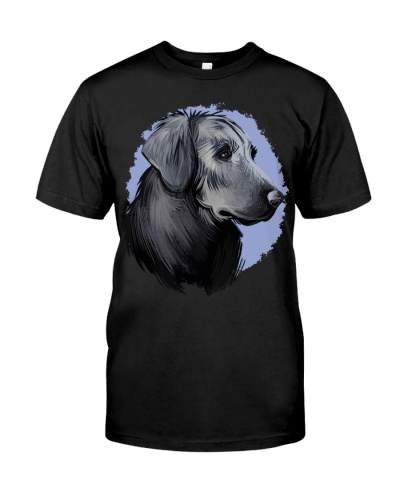 Flat Coated Retriever-Art