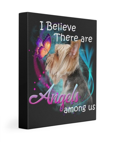 Yorkshire Terrier-Canvas Angels