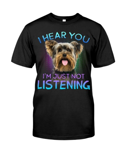 Yorkshire Terrier-I Hear You