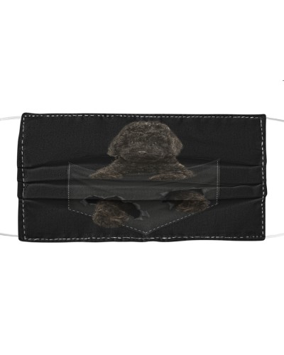 Labradoodle-Black-Face Mask-Pocket
