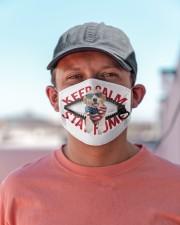 Labrador-US-Keep Calm Cloth face mask aos-face-mask-lifestyle-06