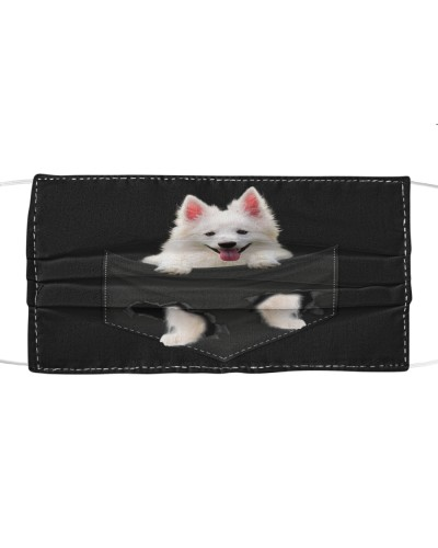 American Eskimo-Face Mask-Pocket