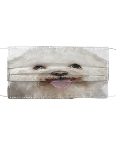 Bichon Frise-Face Mask