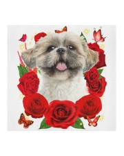 Shih Tzu-02-Face Mask-Rose Cloth face mask aos-face-mask-coverlet-lifestyle-front-02