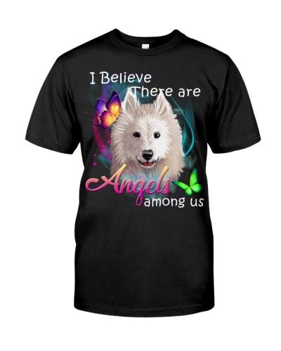 Samoyed-Art-Angels Among Us