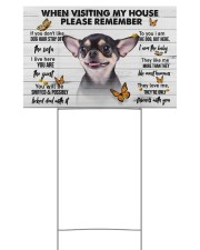 Chihuahua-Please 18x12 Yard Sign front