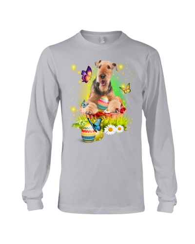 Airedale Terrier-Easter