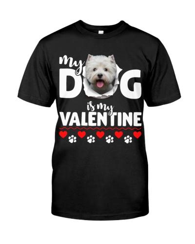 West Highland White Terrier-My Valentine