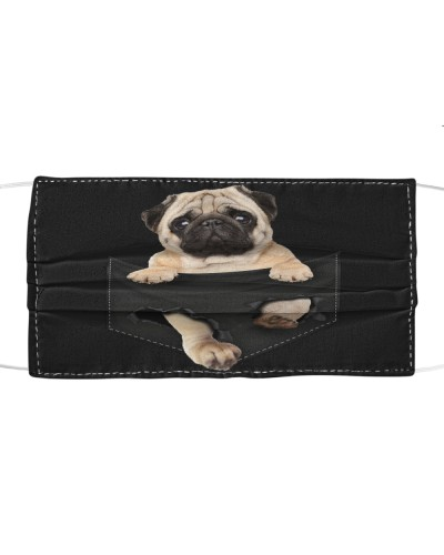 Pug-Face Mask-Pocket