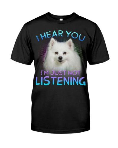 American Eskimo-I Hear You