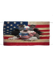 Boston Terrier-US Mask Cloth face mask front