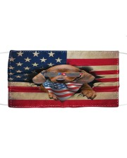 Dachshund-02-US Mask Cloth face mask front