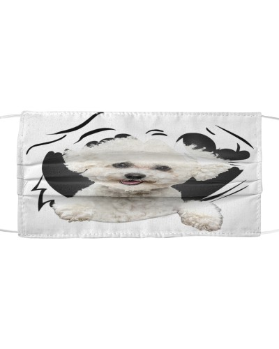Bichon Frise-Face Mask-Torn07